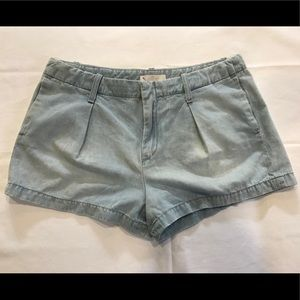 7 For All Mankind Chambray Shorts sz 29